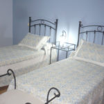 La Galiana - dormitorio azul - 2 camas